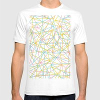Bionic Rays Mens Fitted Tee White SMALL
