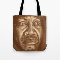 round 2...joe frazier Tote Bag