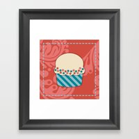 Cupcake 2 Framed Art Print