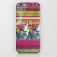 iPhone & iPod Case featuring Wolves -SM by Boni Dutch