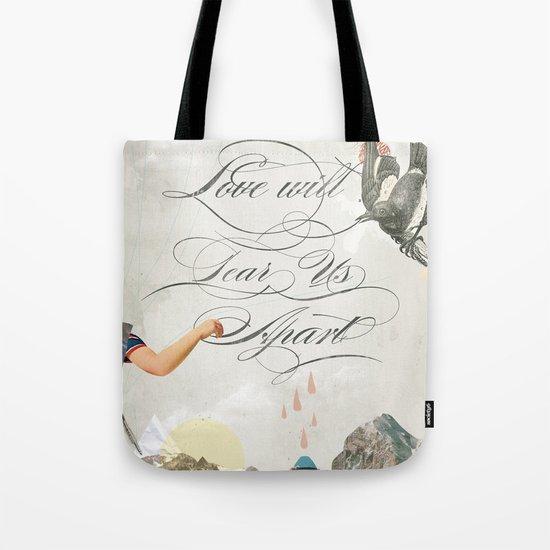 L.W.T.U.A (Love will tear us apart) Tote Bag