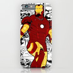 Iron Man Comic iPhone 6 Slim Case