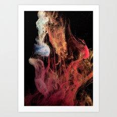 Creation - part 3 Art Print