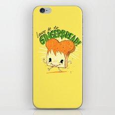 GingerBread iPhone & iPod Skin