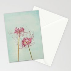 Spider Lily Autumn Botanical Stationery Cards