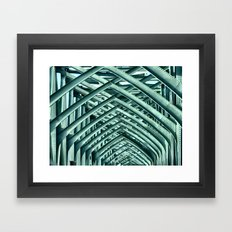 Bridge Ribs II Framed Art Print