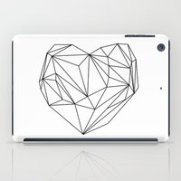 Heart Graphic (black On … iPad Case
