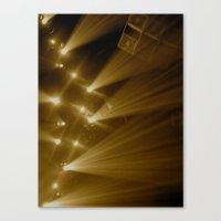 Flashing Lights Canvas Print