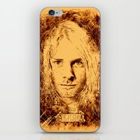 27 Club - Cobain iPhone & iPod Skin
