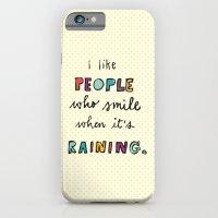 when it's raining iPhone 6 Slim Case