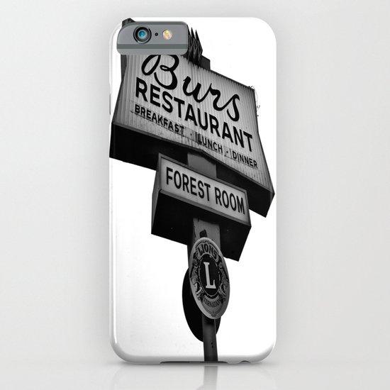 Burs Diner iPhone & iPod Case