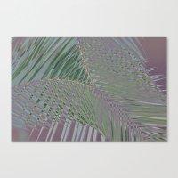 Trippy Pastel Palm Canvas Print