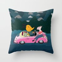 LOS PENCALES EN VIVO!!! Throw Pillow