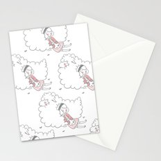 Sleeping creatures Stationery Cards