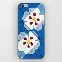 Columbines iPhone & iPod Skin