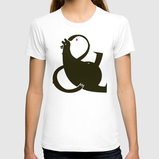 amp-bear-sand poster T-shirt