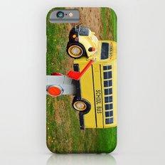 School Bus Mailbox iPhone 6s Slim Case