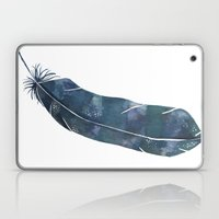 Nebula Feather Laptop & iPad Skin