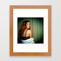 Hattie Framed Art Print