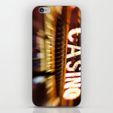 casino iPhone & iPod Skin