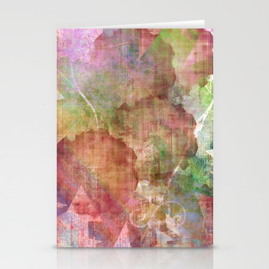 Abstract Me Stationery Card