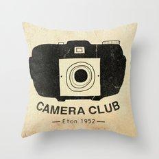 Eton Camera Club Throw Pillow