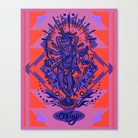 West Kali - Color Canvas Print