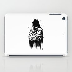 Time (Black and White) iPad Case