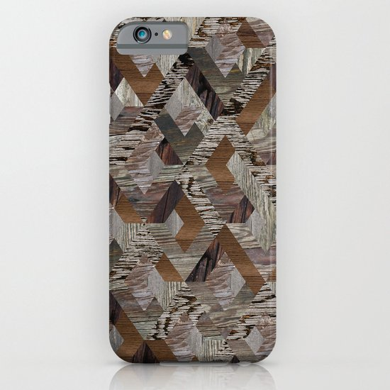Wood Quilt iPhone & iPod Case