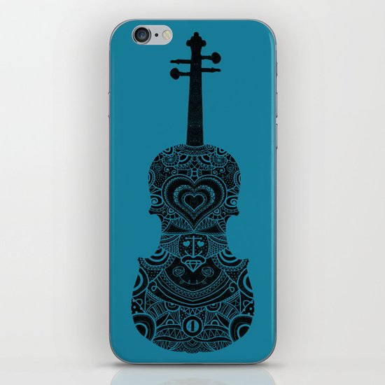 Analog zine - Fiddle iPhone & iPod Skin
