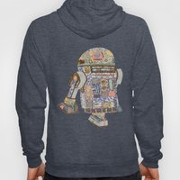R2D2 crashed into a flower shop Hoody