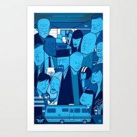 Breaking Bad (blue Versi… Art Print