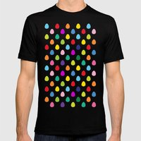 Mini Eggs Mens Fitted Tee Black SMALL