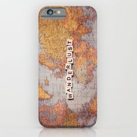 Wanderlust Map iPhone 6 Slim Case
