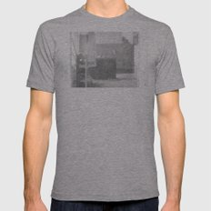 Same old doors... Mens Fitted Tee Athletic Grey SMALL