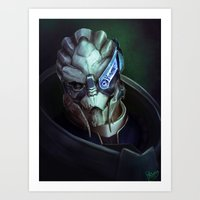 Mass Effect: Garrus Vaka… Art Print