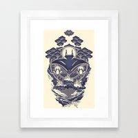 Mantra Ray Framed Art Print