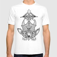 Creature Mens Fitted Tee White SMALL