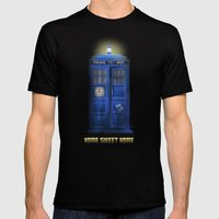 """Death – The Doctor's Truest Companion"" Mens Fitted Tee Black SMALL"