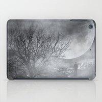 Dark Night Sky Paradox iPad Case