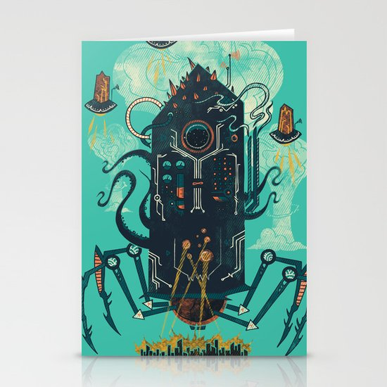 Not with a whimper but with a bang Stationery Card