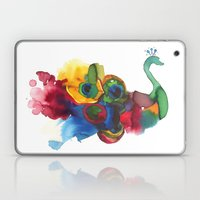 colorful peacocks Laptop & iPad Skin