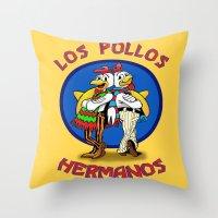 Los Pollos Hermanos. Bre… Throw Pillow