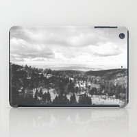 Mountains and Desert view iPad Case