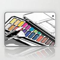 Watercolours Laptop & iPad Skin