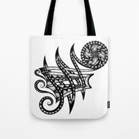 Shoulder Band Tattoo  Tote Bag