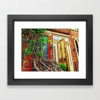 Vines over the Doorway Framed Art Print