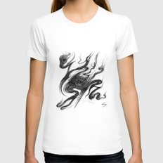 Divination Womens Fitted Tee White SMALL