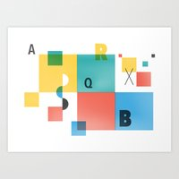 Composition 1 Art Print