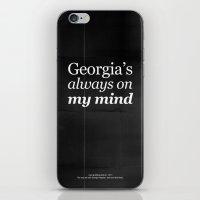 Georgia's Always On My M… iPhone & iPod Skin